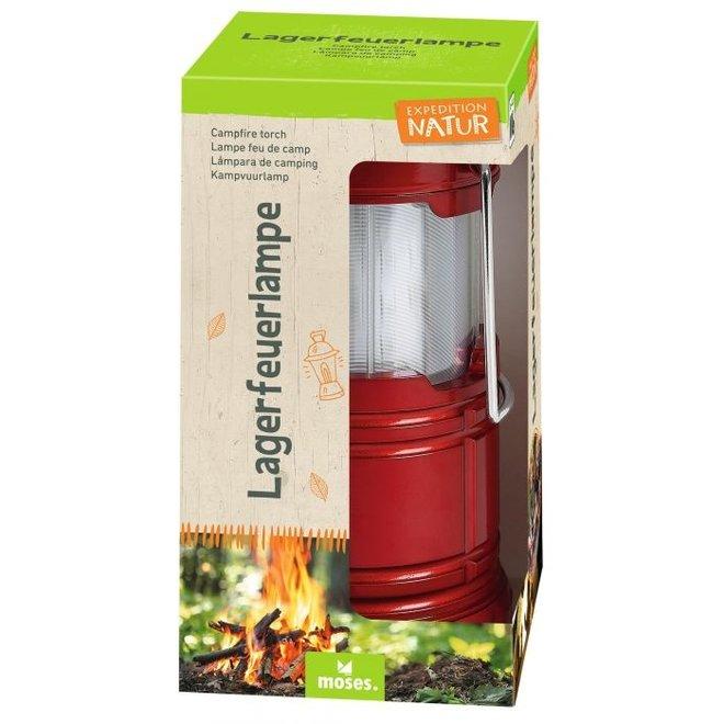 Camping lantern child | red