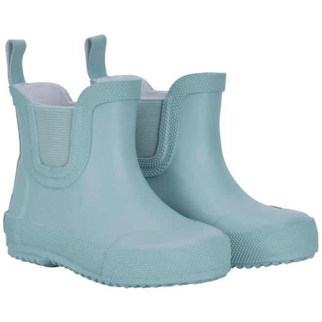 Short rubber rain boots | Smoke Blue | size 19-26