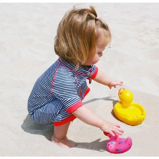 UV swimsuit short sleeves | Flicflac