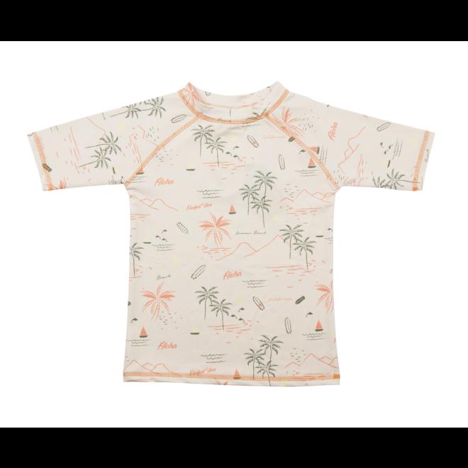 UV swim shirt short sleeves | Waikiki