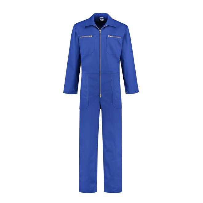 Royalblue overalls cotton   with zipper