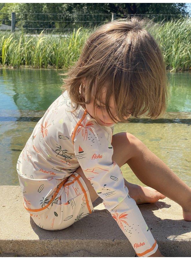 Uv werende zwembroek | Waikiki| 4-12 jaar