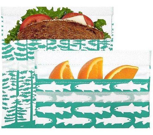 Lunchskins textielen snack-en lunchzakjes