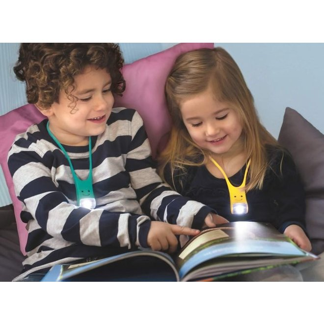 Children's reading light | pink, yellow or turquoise