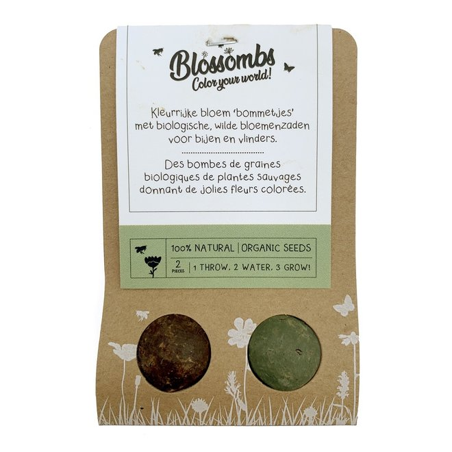 Seed bombs | Set of two in a gift box