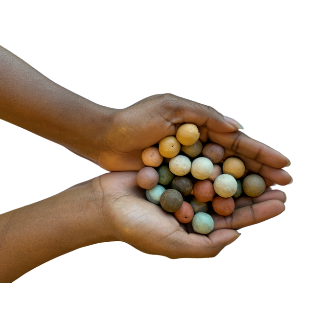 Zaadbommetjes | Set van 8 in katoenen geschenkzakje