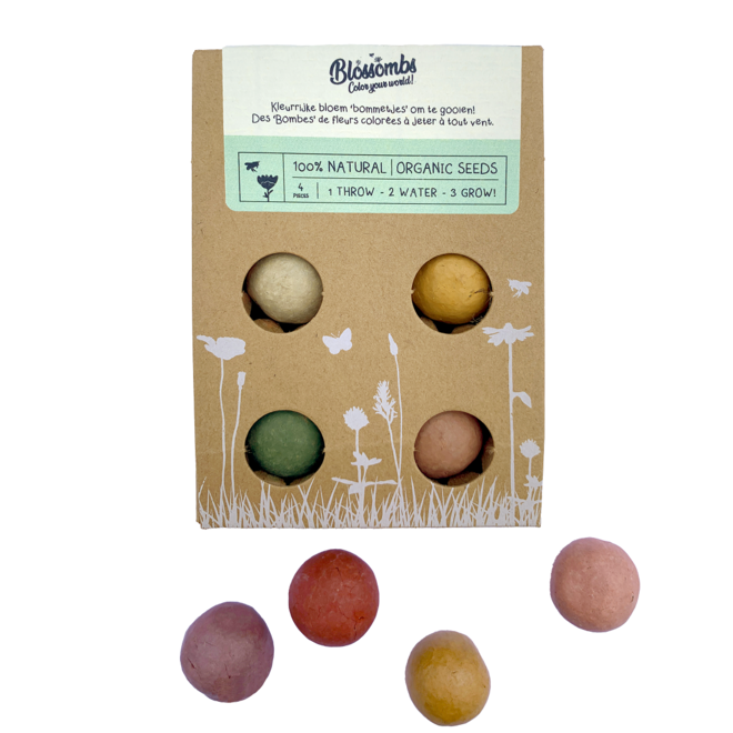 Blossombs flower bomb 4 in gift box