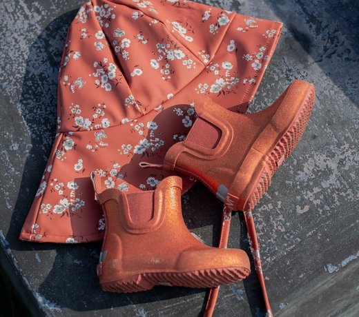 Rain boots and slippers for children