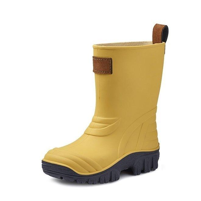 SEBS Rubber gele kinder regenlaarsjes
