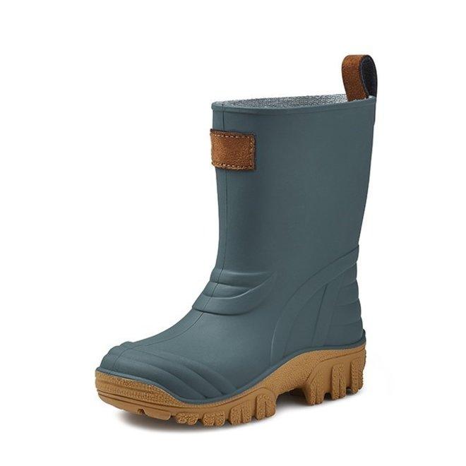 SEBS Rubber children's rain boots| dark green