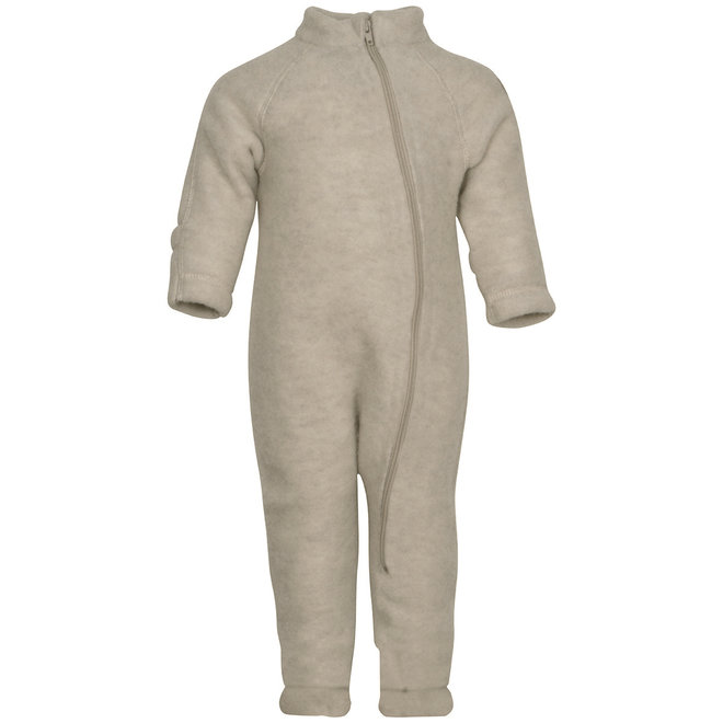 Wool jumpsuit child | off white| size 56-104