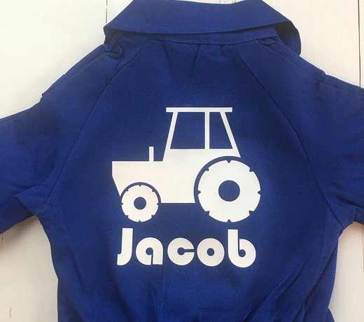 Personalized children's overalls