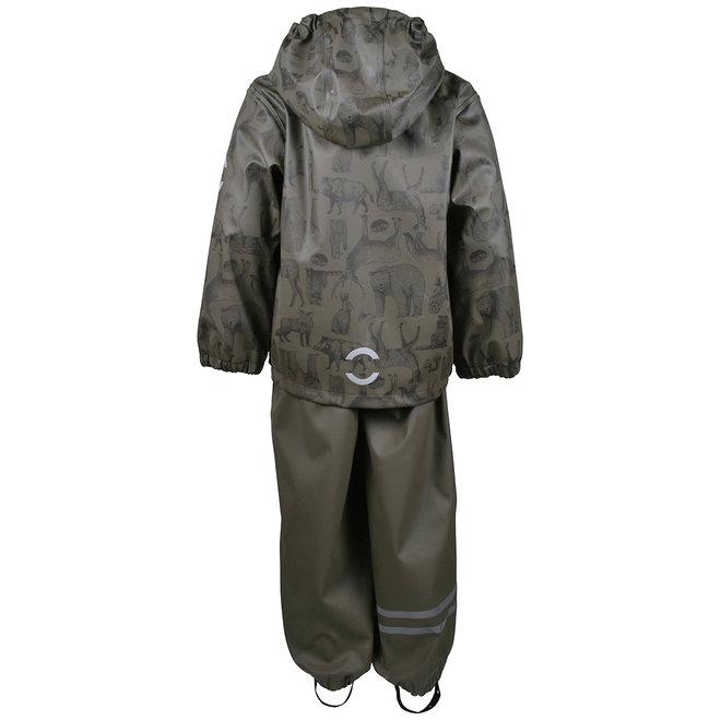 Lined rain suit | set | Tarmac Forest