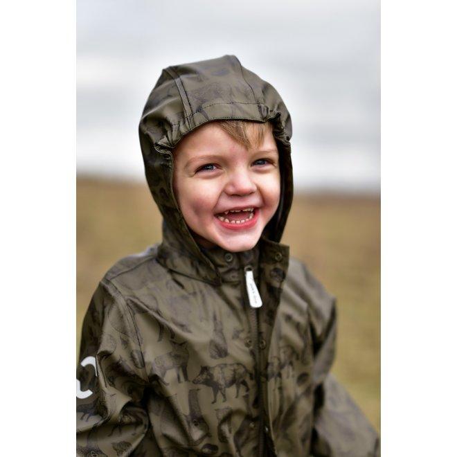 Gevoerd regenpak   set   Tarmac Forrest