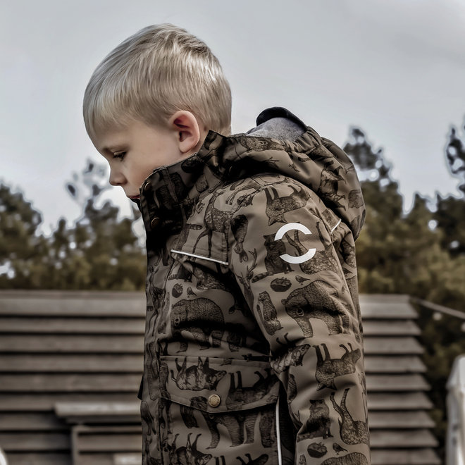 Junior winter jacket   Tarmac Forest   size 104-152