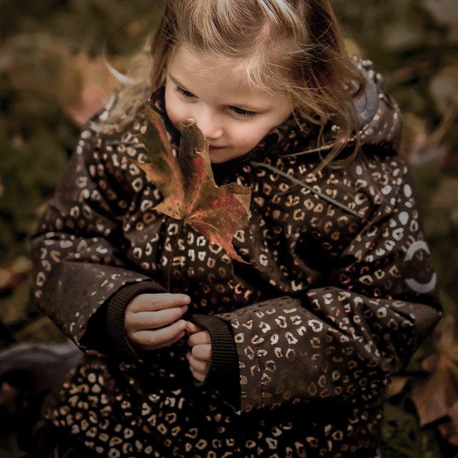 Junior winter jacket | Chocolate Gold | size 104-158