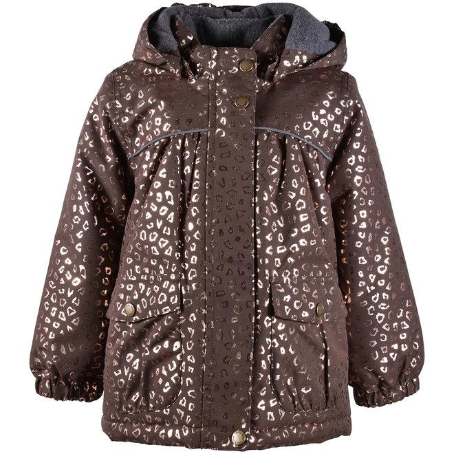 ♻️Baby winter coat | Chocolate Gold | waterproof