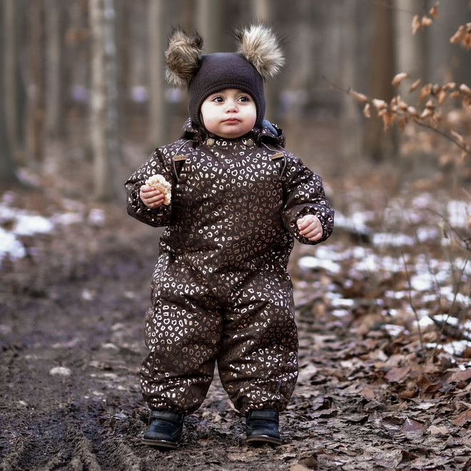 ♻️ Baby Snowsuit   Chocolate Gold