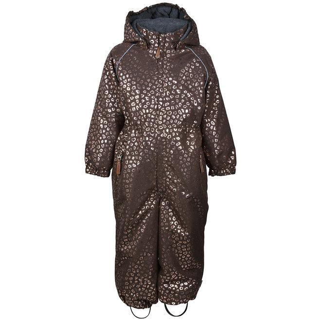 ♻️ Junior ski suit | Chocolate Gold