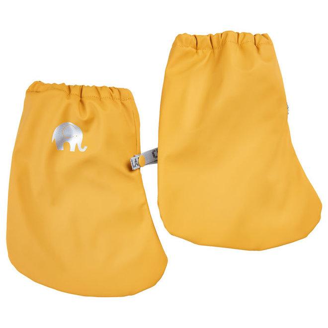 Gevoerde regenslofjes voor baby's  Mineral Yellow