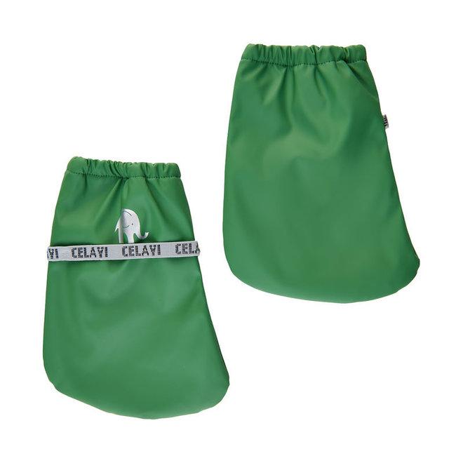 Padded rain slippers for babies  Elm Green