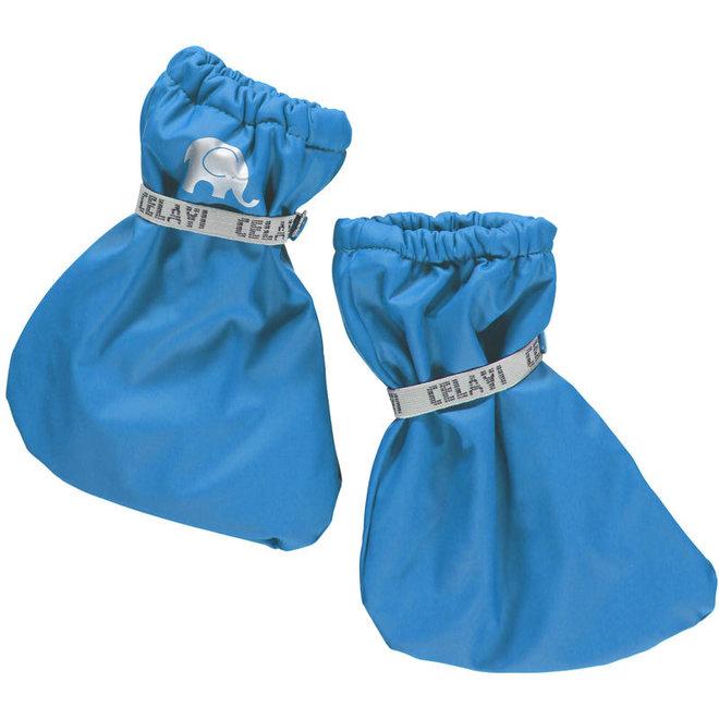 Padded rain slippers for babies| sky blue