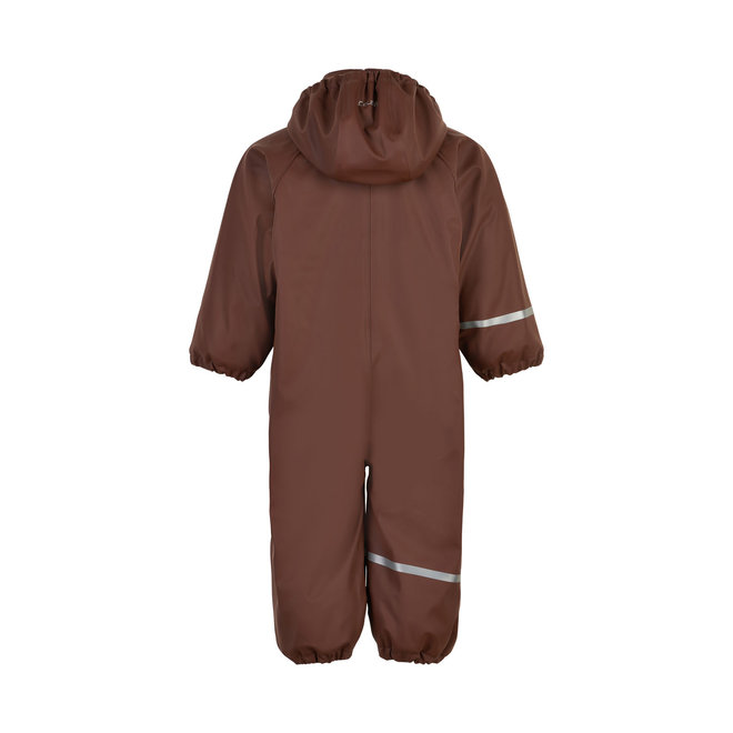 ♻️ Children's one-piece rain suit   fleece lining   Rocky Road   70-110