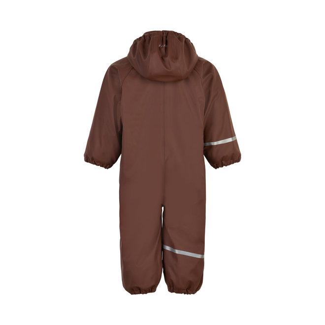 ♻️ Kinder regenpak uit één stuk   fleece voering   Rocky Road    70-110