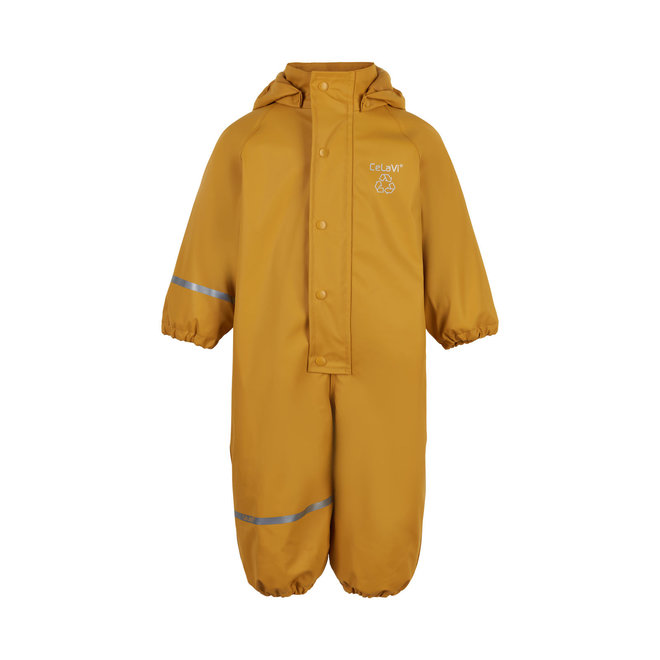 ♻️ Fleece lined rain coverall   Mineral Yellow