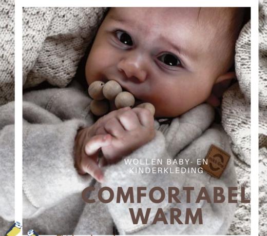Woolen baby and children's clothing