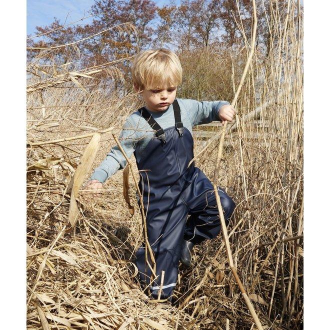 ♻️ Duurzame kinderregenbroek |  Donkerblauw |maat 80-140