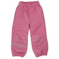 thumb-Thermo set broek en jack gewatteerd oud roze | 80-128-5