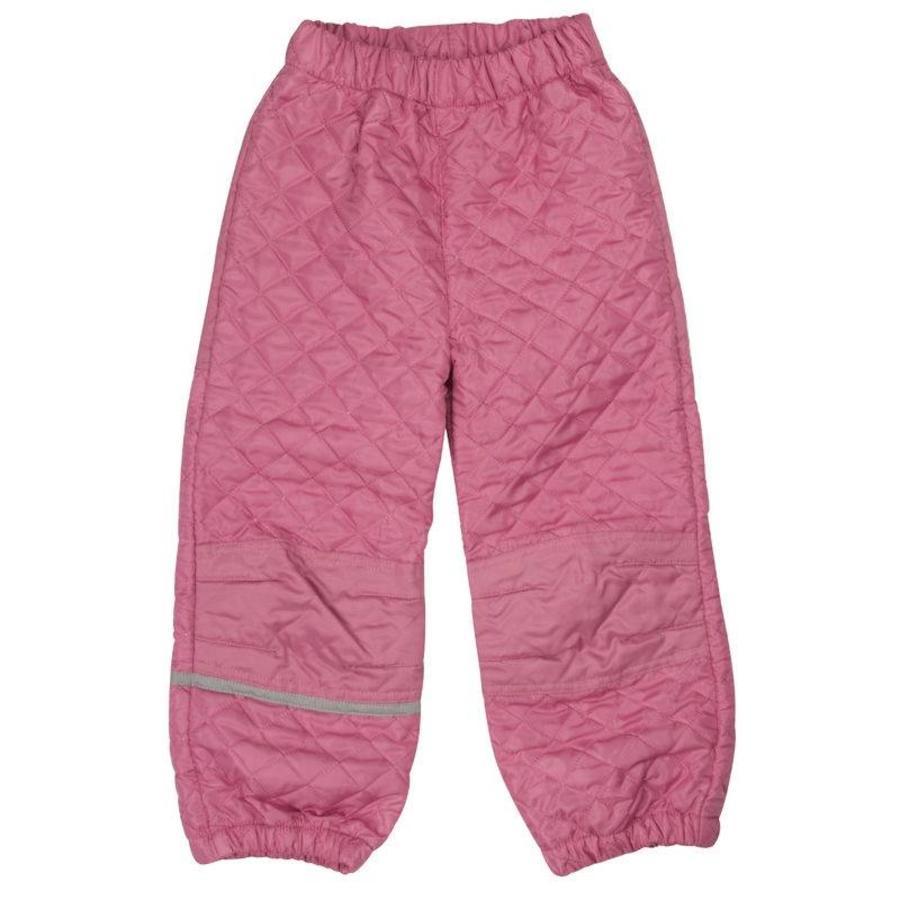 Thermo set broek en jack gewatteerd oud roze | 80-128-5