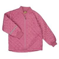 thumb-Thermo set broek en jack gewatteerd oud roze | 80-128-4