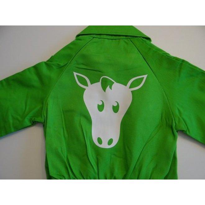Paard bedrukking voor overall