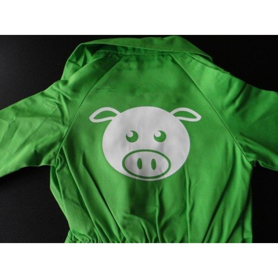Customise your coverall with the picture of a pig-1