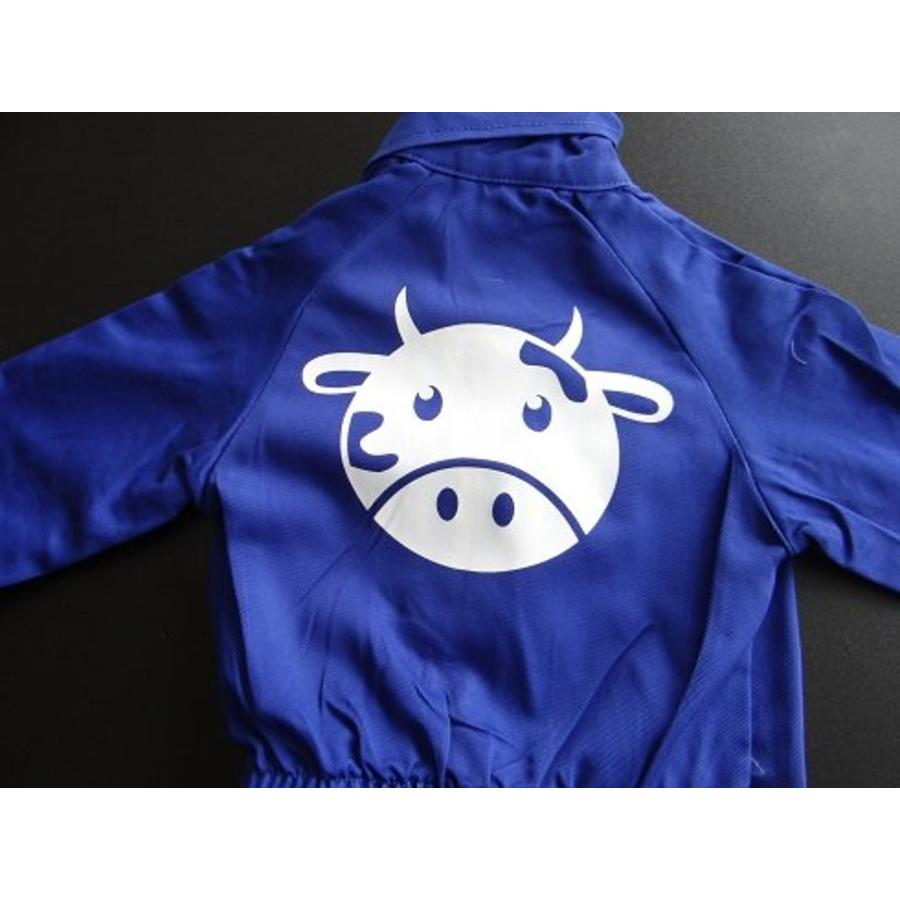 Customise your overall with the picture of a cow-2