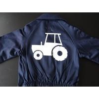 thumb-Overall met trekker, tractor-5