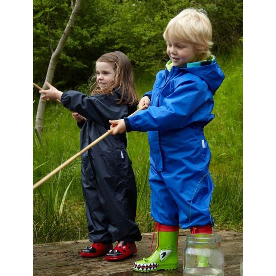Waterproof overall, regenoverall - navyblauw KDV & BSO-5