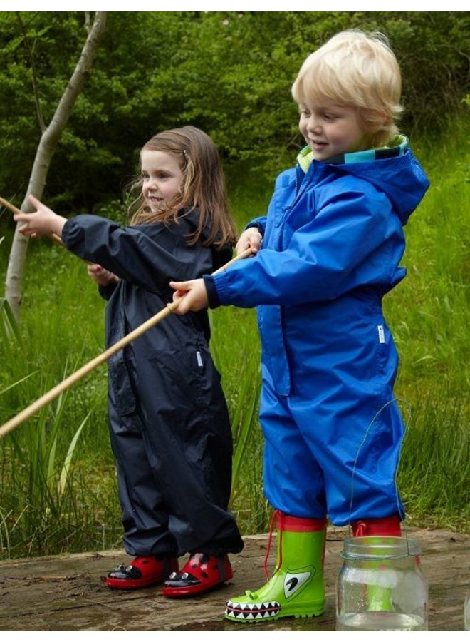 Waterproof overall, rain overall - blue KDV and BSO