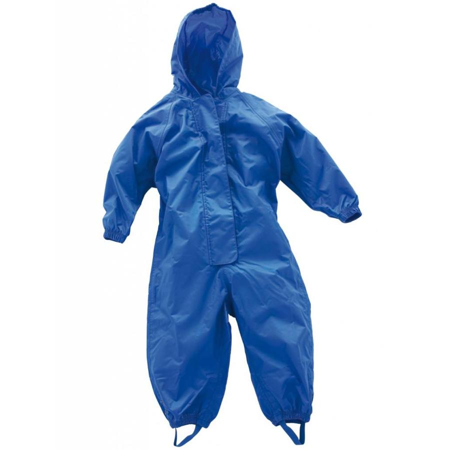 Waterproof coveralls, rain boiler suit - blue-5