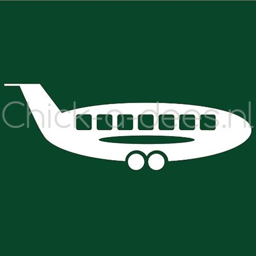 Customise your overall with the picture of an airplane-3