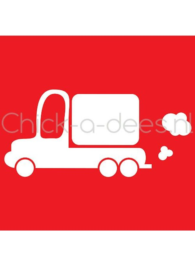 Truck print for overall