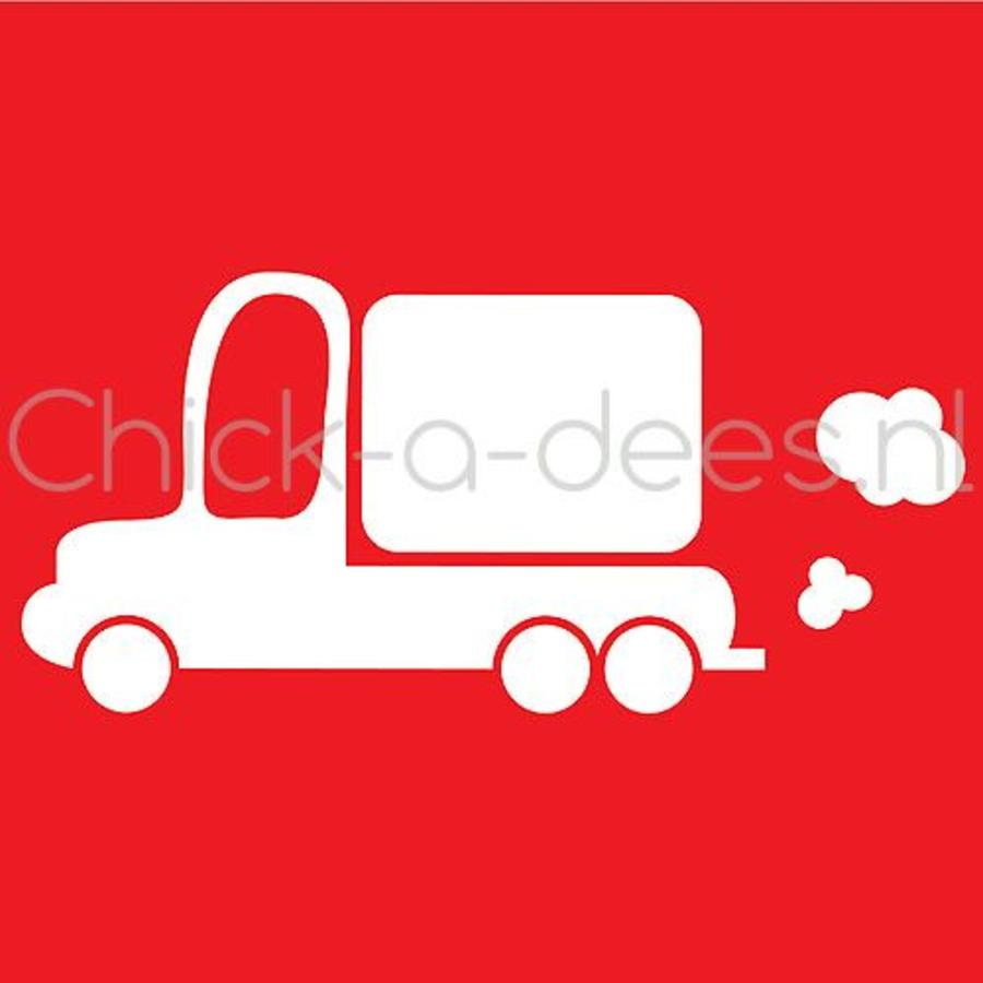 Customise your overall with the picture of a truck-4