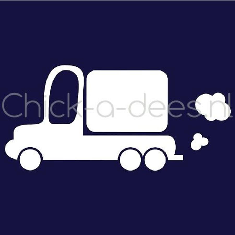 Customise your overall with the picture of a truck-6