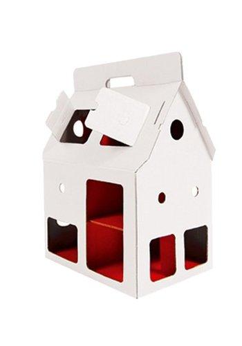 Poppenhuis Mobile Home, wit, Kidsonroof