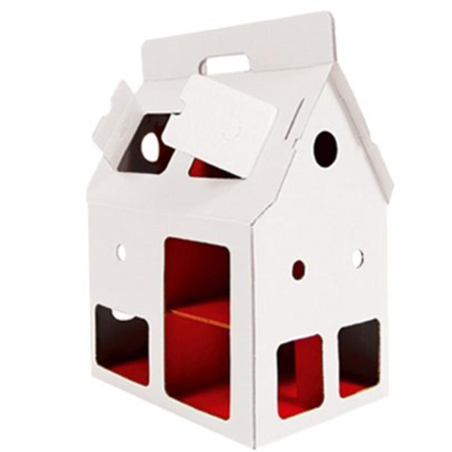 Dollhouse Mobile Home, white, Kidsonroof-1