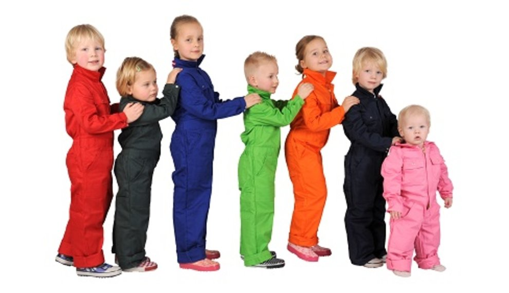 Boilersuits and coveralls for boys and girls
