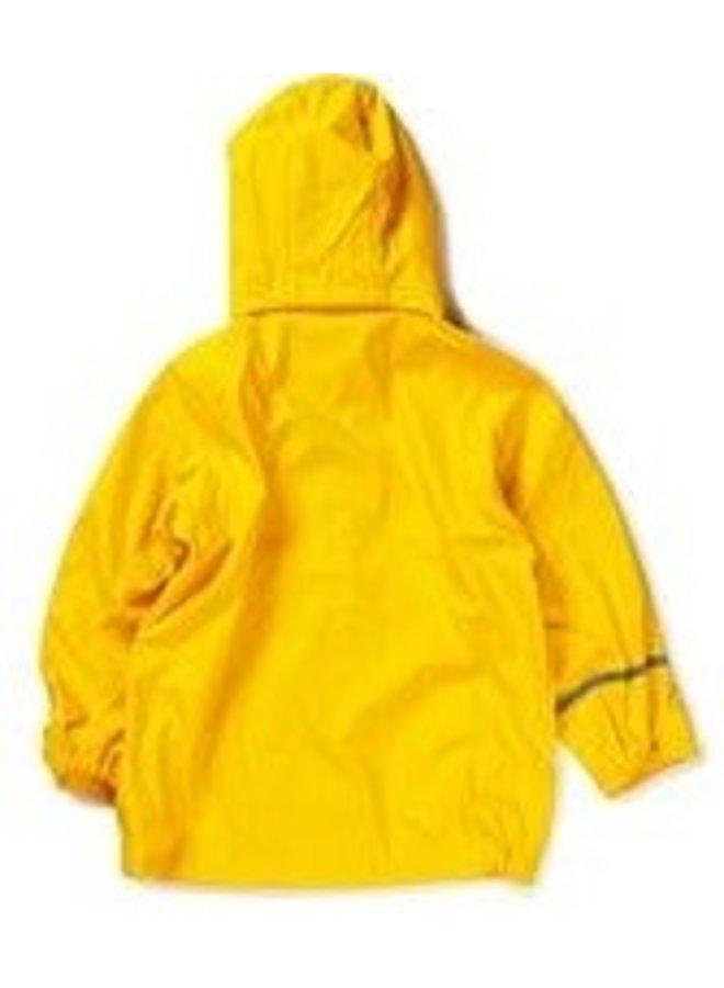Gele kinderregenjas | 80-140