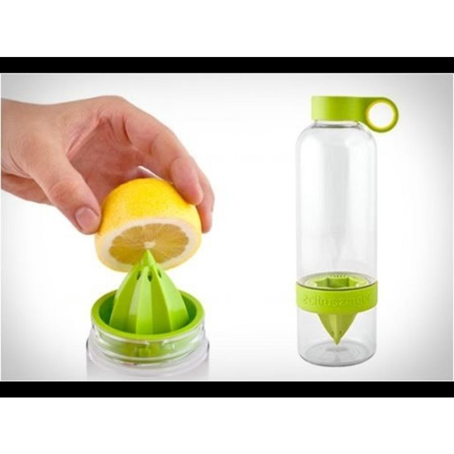 Lime groene Citrus Zinger mini waterfles-2